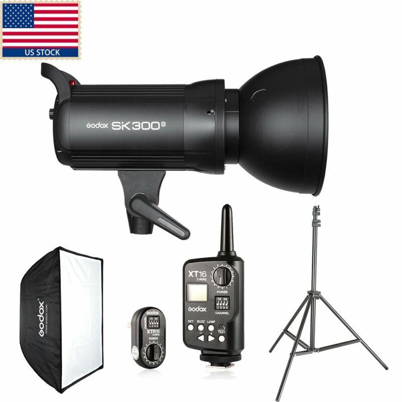 Godox SK300II 300w Photo Studio Strobe Flash Light Head F Canon Sony Nikon Fuji