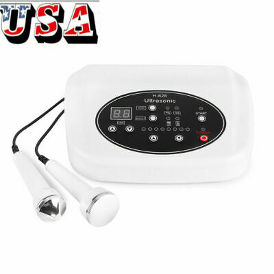 1mhz-3mhz Ultrasound Two Probes Therapy Skin Rejuvenation Lifting Beauty Machine