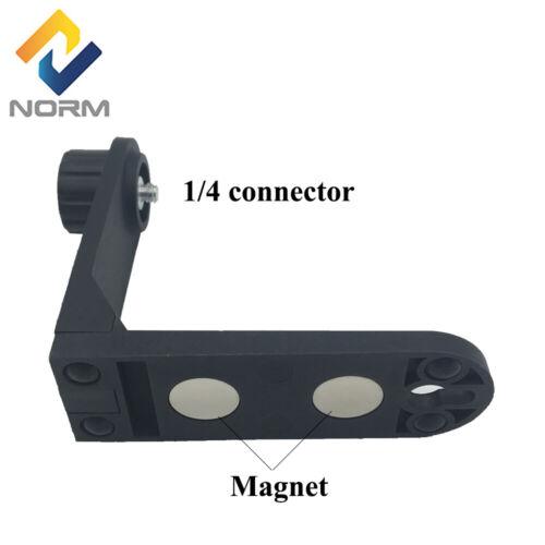 Magnetic L Bracket for 2 line Laser Level 360 Degree Rotating With 1/4