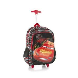 Heys Disney Rolling Backpacks Kids Multicolored School Bag - Cars 18 Inch