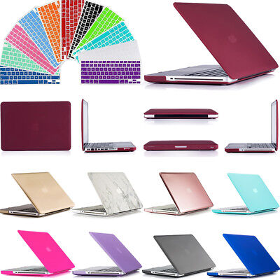 Hard Plastic Case Shell Keyboard Cover For MacBook OLD Pro 13 A1278 with CD ROM