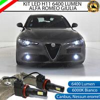 KIT FULL LED INTERNI COMPLETO ALFA ROMEO GIULIA CANBUS 6000K BIANCO GHIACCIO