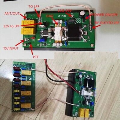 Used, 90W HF Power Amplifier  + 100W 3.5Mhz-30Mhz LPF For FT-817 IC-703 KX3 Ham Radio for sale  China
