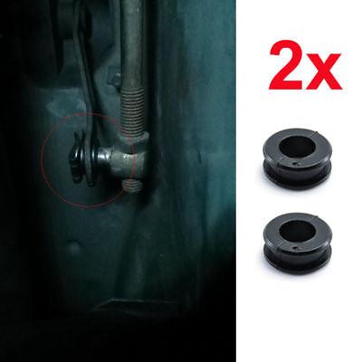 2x Mercedes Manual Trans Shift Rod Bushing Gear Lever Repair Part 210 992 00 10 (00 Lever Shift Rod)