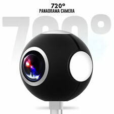 Mini 360° Panoramic VR Camera Dual Lens HD Sport Action Cam for Andriod Phone