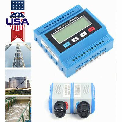 Ultrasonic Liquid Flow Meter Ts2 Tuf-2000m Digital Flowmeter Data Check Meter Us