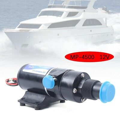 12v Sewerage Waste Water Pump Centrifugal Mount Macerator For Rv Yacht Toilet Us
