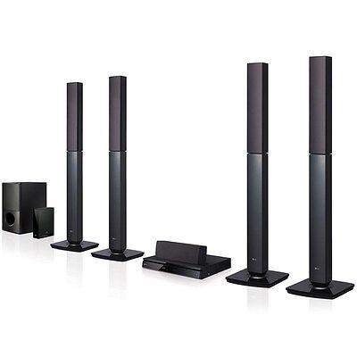 LG New LHD457 5.1 DVD Home Theater System Bluetooth HDMI PAL NTSC 110-220 Volt