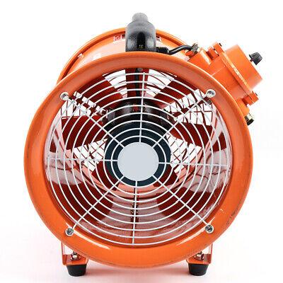 Ex Axial Fan 12 Inch Explosion-proof Exhaust Flow Fan 370w 110v 2650cfm 69db Ce