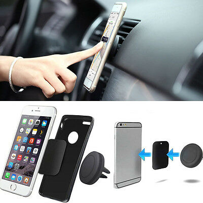Magnetic Cell Phone Car Holder Slot Car Mount for Smartphone iPhone/Samsung B7