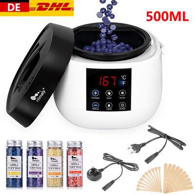 Wachsgerät Set Wachswärmer Wachs Erhitzer+ Wachs Bohnen Haarentfernung Wax Salon
