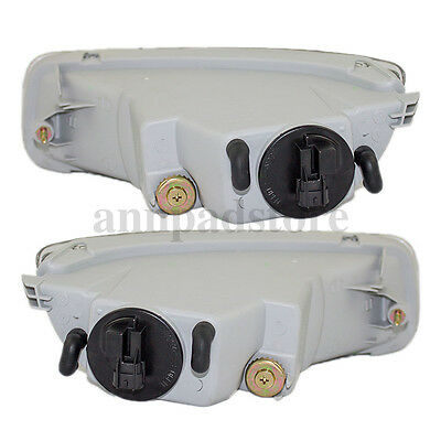 One Pair For 2003-2004 Toyota Corolla JDM Clear Bumper Driving Fog Lights X