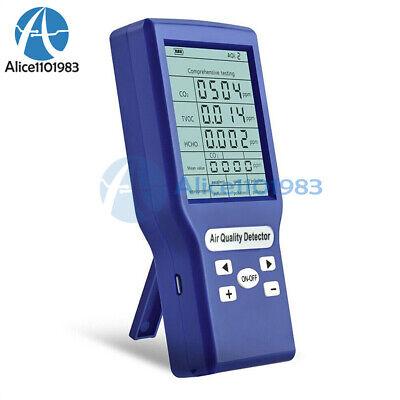 Carbon Dioxide Detector Co2 Meters Gas Analyzer Protable Air Quality Tester