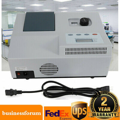 Visible Spectrophotometer Spectrometer Digital 350-1020nm Laboratory Equipment