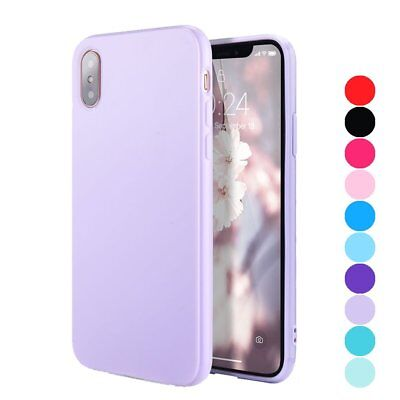 Colorful Candy (For iPhone X Candy Color Jelly Silicone Non-Silp Slim Soft TPU Shockproof)