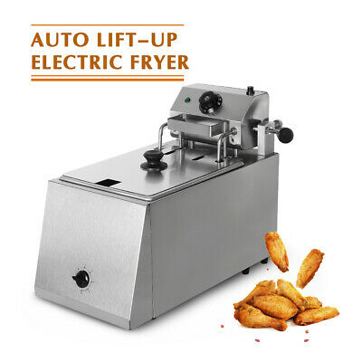Commerical Auto Lift-up Electric Fryers Suitable For All Kind Fries Food 2800w