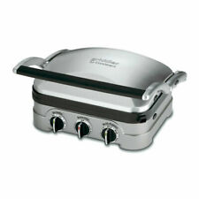 Cuisinart GR-4N 5-in-1 Grill Griddler Panini Maker w/ Waffle Attachment