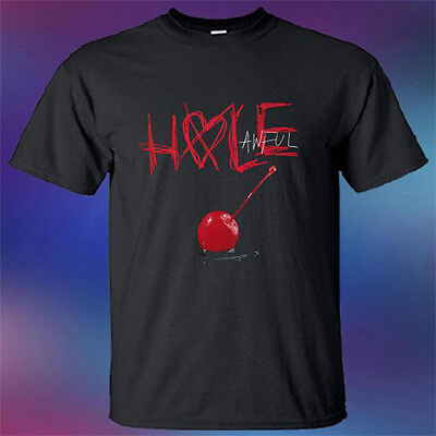 New Hole Band Awfull Album Cover Rock Band Legend Mens Black T-Shirt Size S-3XL ()