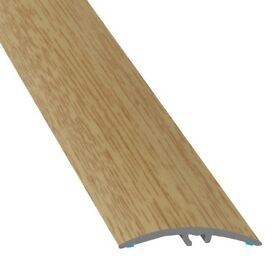 Aluminium Door Bars Threshold Strip Transition Trim Laminate Tiles 47 MM X 90 CM NOBEL OAK