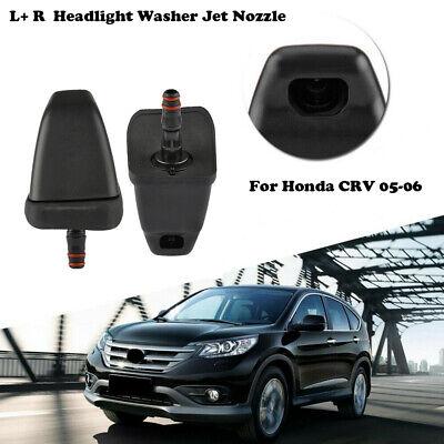 Door Handle Set For 2002-2006 Honda CR-V Outer Black Plastic 4Pc