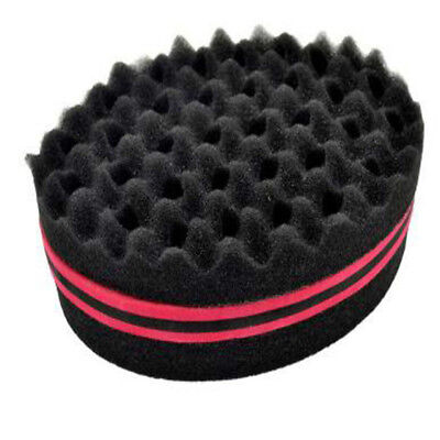 A Locking Afro Curl Twist Dreads Coil Wave Barber Hair Brush Sponge Smart Lockin