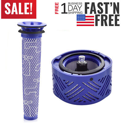 - Washable Pre&Post HEPA Filter Motor for Dyson V6 Cordless Stick Vacuum Cleaner