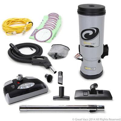 NEW More Powerful Proteam MegaVac 10 qt Backpack Vacuum Cleaner 10 quart Mega Va for sale  West Jordan