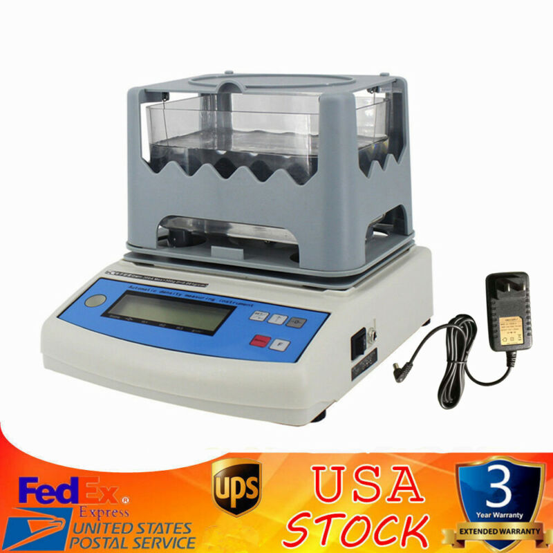 New LCD Display Electronic Solid Densitometer JL3002GT Density Direct Reading US