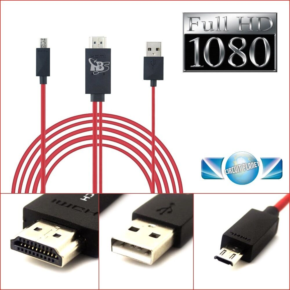 how to use mhl micro usb to hdmi