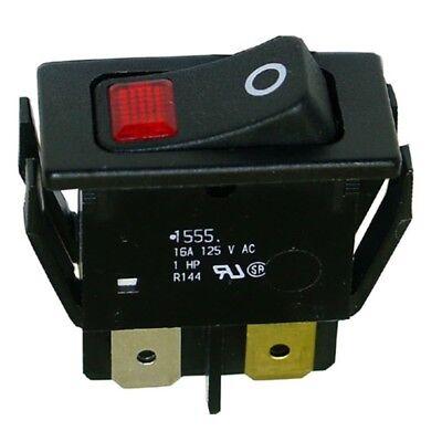 Hatco Lighted Rocker Switch 2pst Onoff 16a125v 42-145902.19.080 Nib