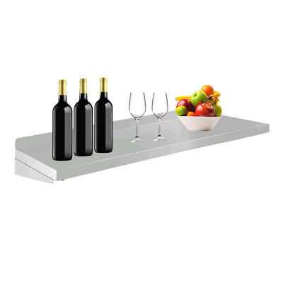 Wall Mounted Stainless Steel Shelf Rack Serving Table For Kitchen Dining Carts