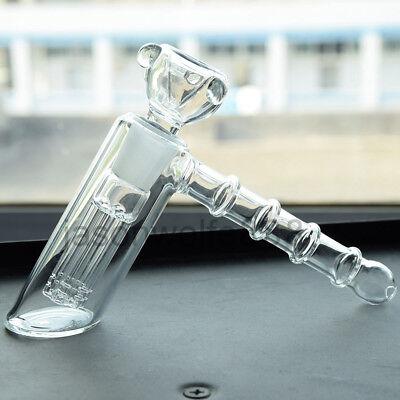- Mini Glass Hookah Hammer Percolator Bubbler Water Bong Pipe Smoking Hookah Set