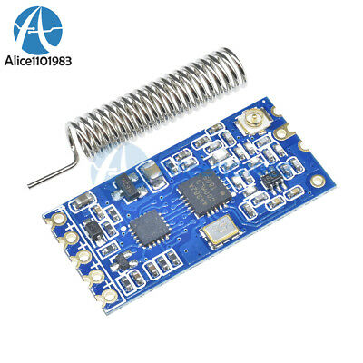 433mhz Hc-12 Si4463 Wireless Serial Port Module 1000m Replace Bluetooth Top