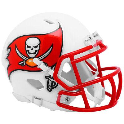 Tampa Bay Buccaneers White Matte Speed Mini Helmet New In Box -