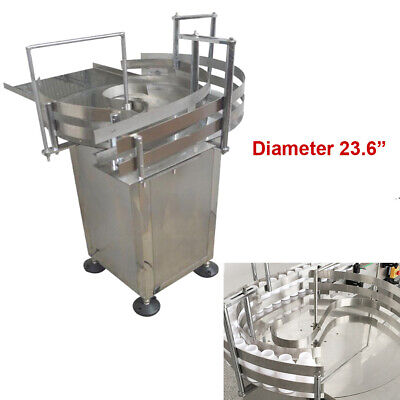 Bottle Collator Unscrambler Accumulation Table Vial Distributing Machine 110v