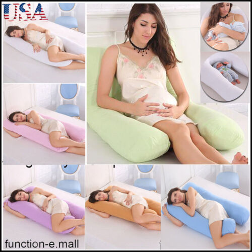 US Pregnancy Pillow - Support Full Body Pillow for Maternity