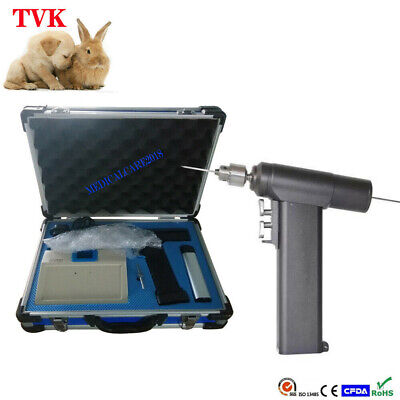 Small Cordless Cannulated Bone Drill For Animal Surgical Orthopedic Instruments