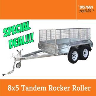 8x5 Tandem Axle Heavy Duty Box Trailer 2000kg ATM Rocker Roller Dandenong Greater Dandenong Preview
