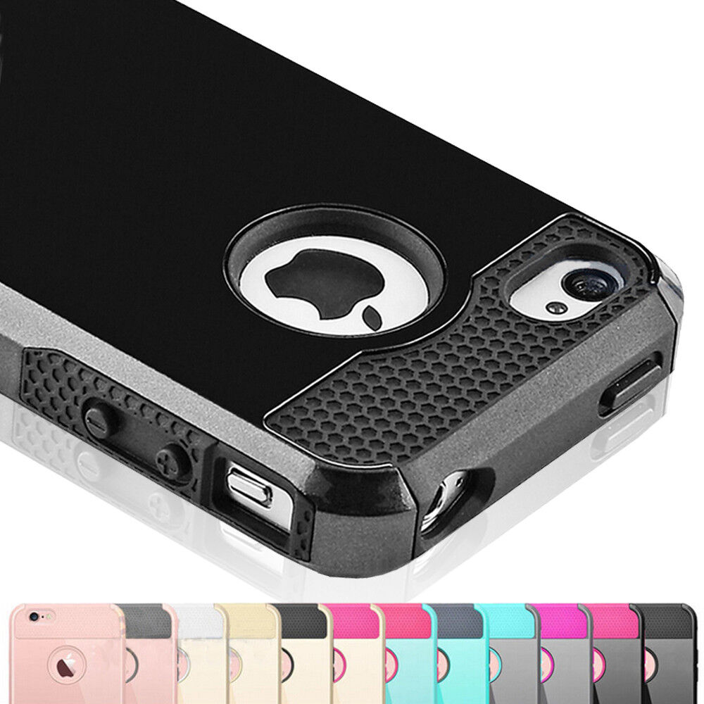 Hybrid Rugged Shockproof Rubber Protective Hard Case Cover F