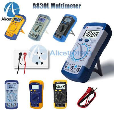 A830l Lcd Digital Multimeter Dc Ac Voltage Diode Freguency Multitester Volt Test