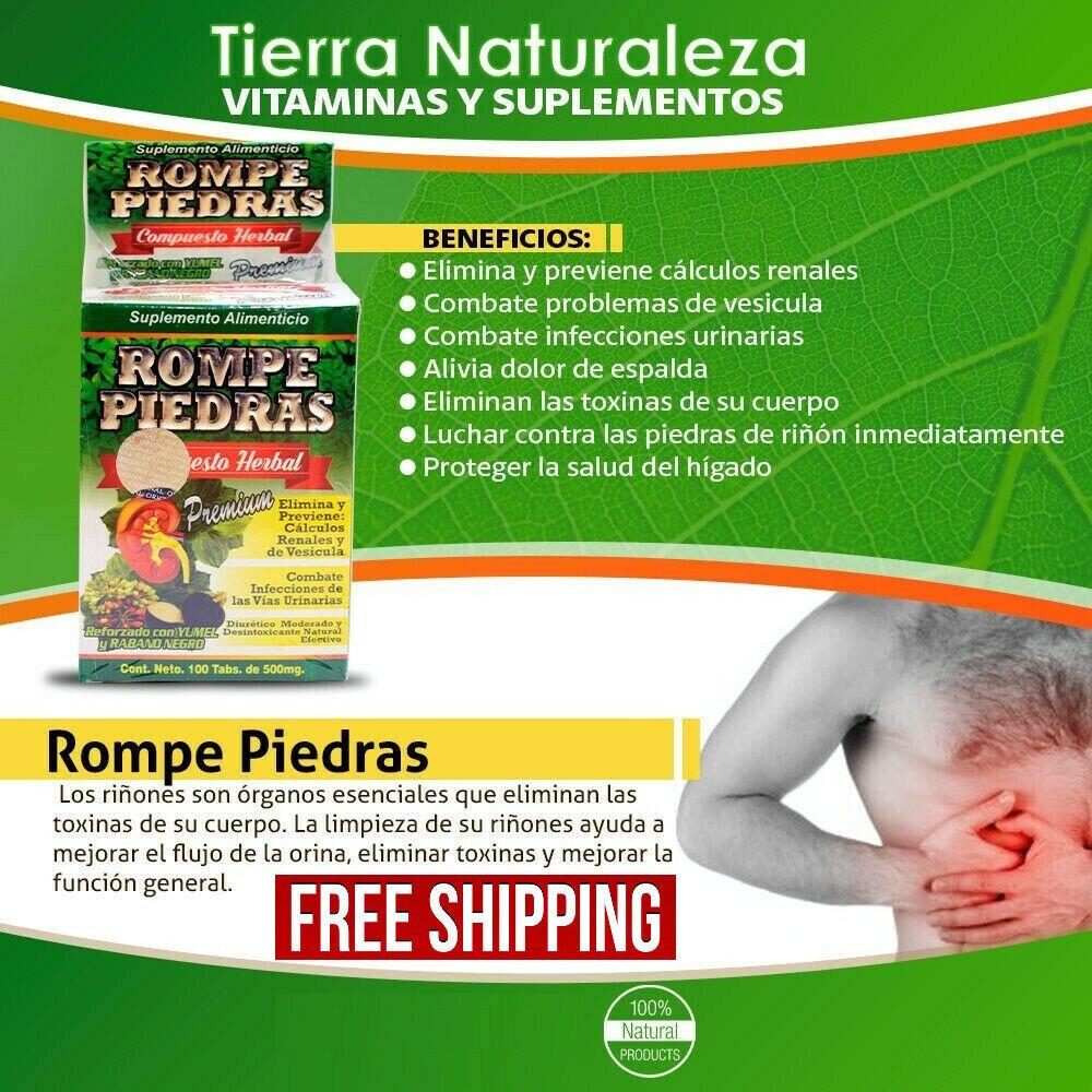 Rompe Piedras Formula Herbolaria de Mexico - Envio Gratis