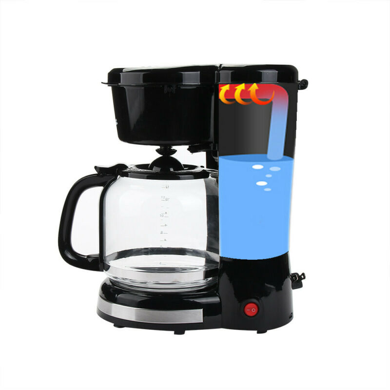 Practical 10-cup Home Coffee Maker High Quality Family Home