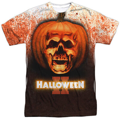 Halloween II 1981 Horror Thriller Slasher Movie Poster Adult Front Print T-Shirt ()