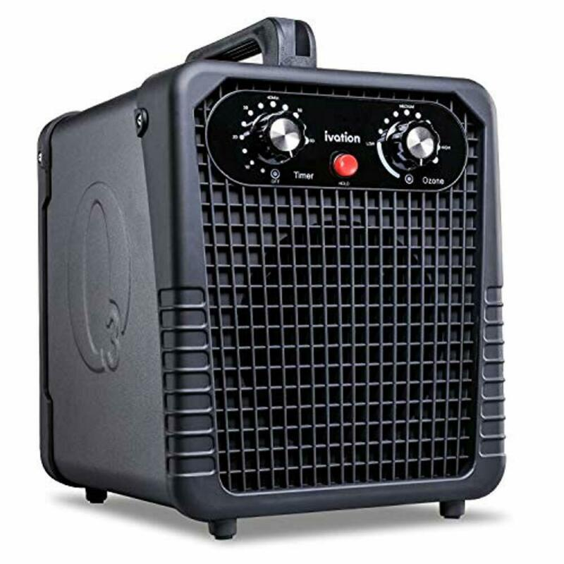 Ivation Air Purifier Ozone Generator, Ionizer & Deodorizer for Up to 3,000 SqFt