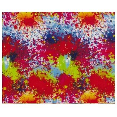 Hydrographic Water Transfer Hydro Dipping Film Paint Splatter 3 1m