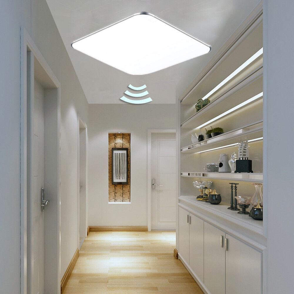 12W Sensorlampe LED Deckenlampe Deckenleuchte Innenleuchte mit Bewegungsmelder