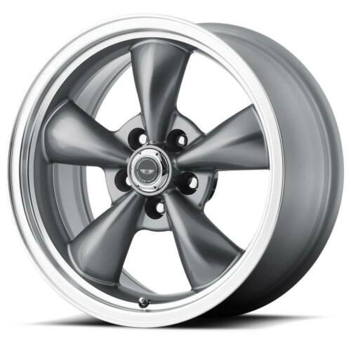 16x7 AMERICAN RACING TORQ THRUST M 5x100 ET35 Anthracite Rims (Set of 4)
