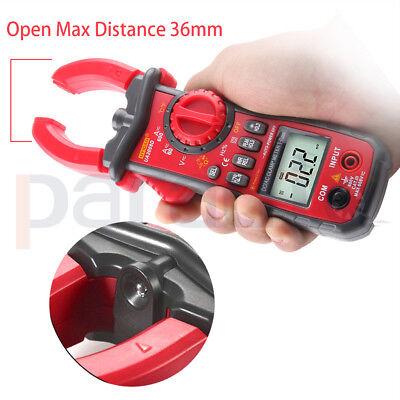 Ua2008d Digital Clamp Meter Multimeter Lcd Handheld True Rms Acdc Tool