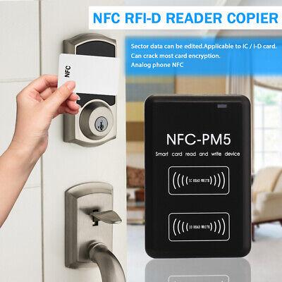 Contactless Intelligent NFC Reader Writer RFI-D Copier IC I-D Duplicator US G0I6