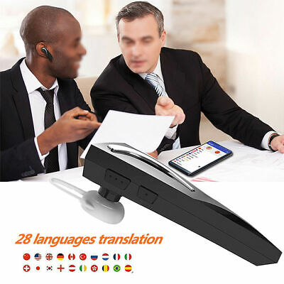 Smart Voice Translator Portable Two-Way Real Time Multi-Language Translation